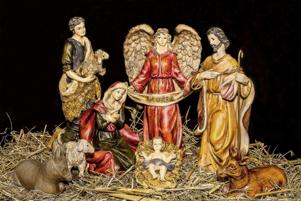nativitiy scene christmas